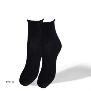 SANGIACOMO calze rotolino nero