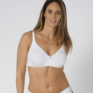 Triumph reggiseno Body make up essentials bianco